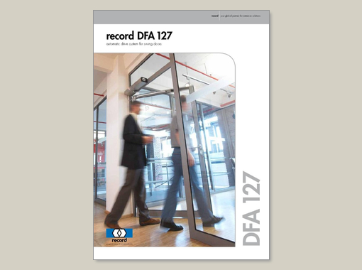 record DFA 127 – brochure